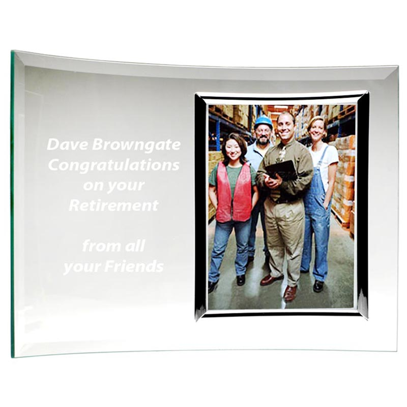 8 x 11 Inch Encore Curve Picture Frame