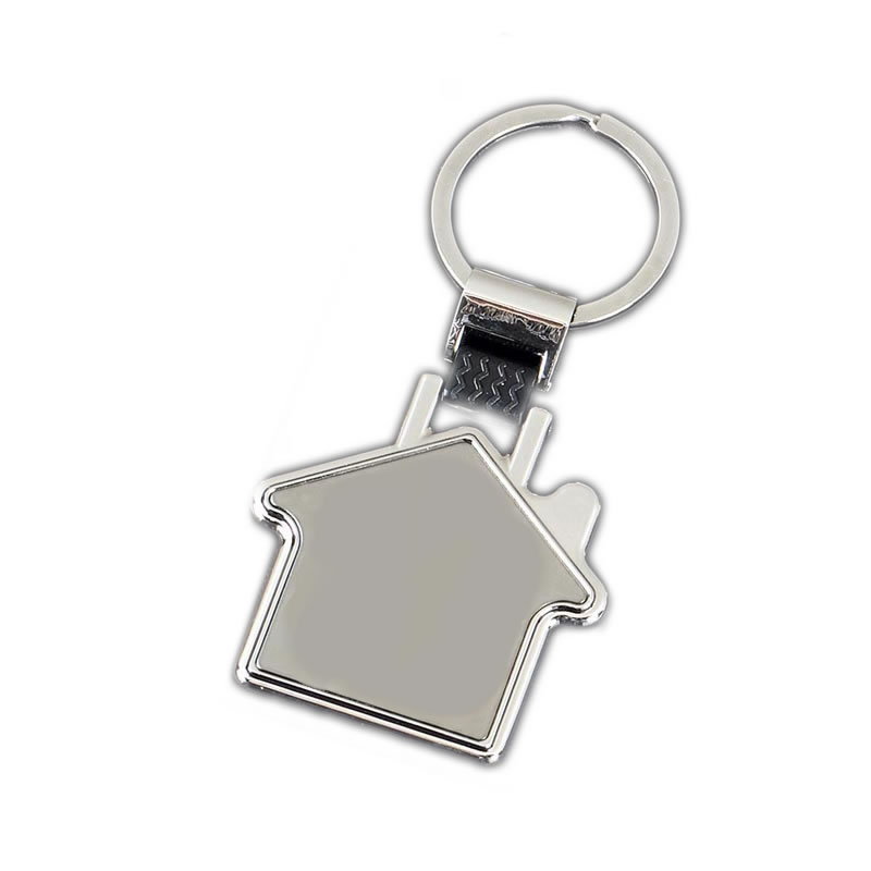 40mm House Crown Keyring