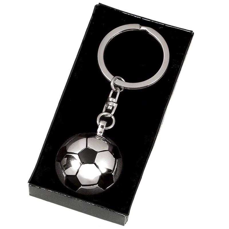 Ball Football Crown Keyring