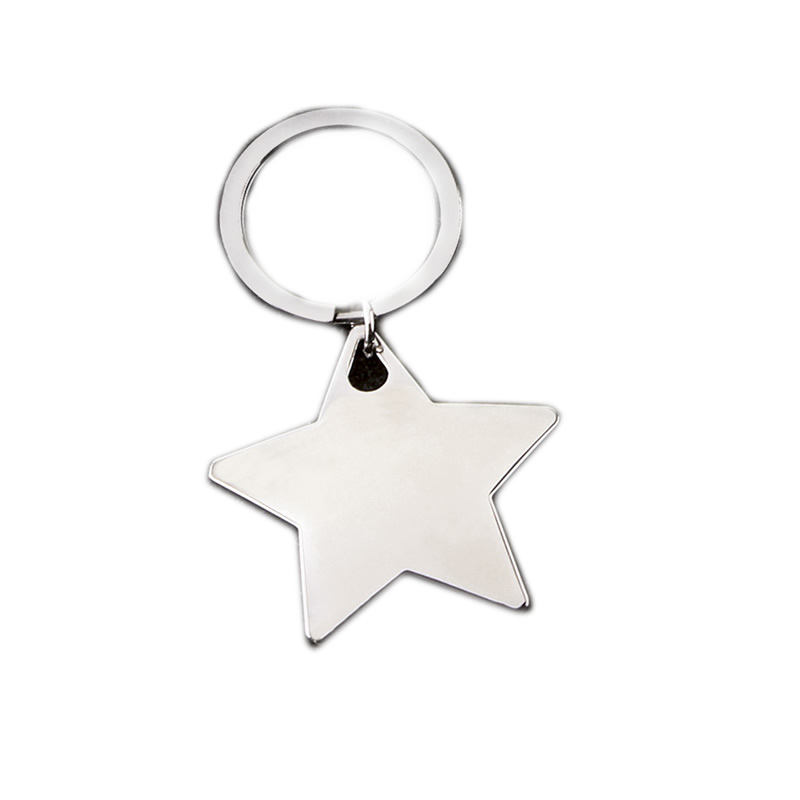 Star Crown Keyring