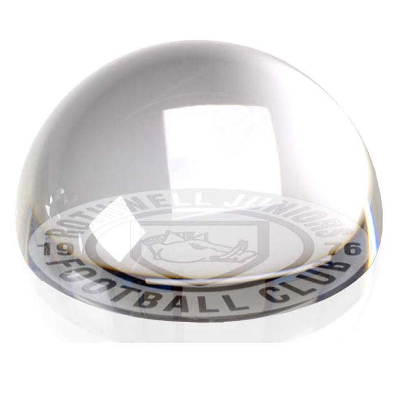 8cm Dome Paperweight Paperweight Award