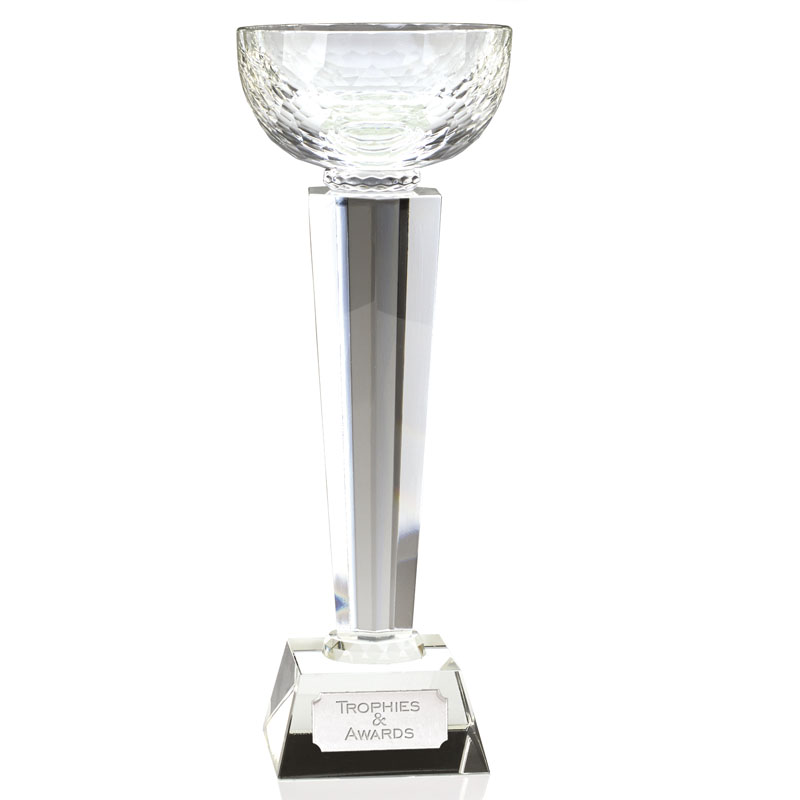 11 Inch Optical Cup Elite Crystal Award