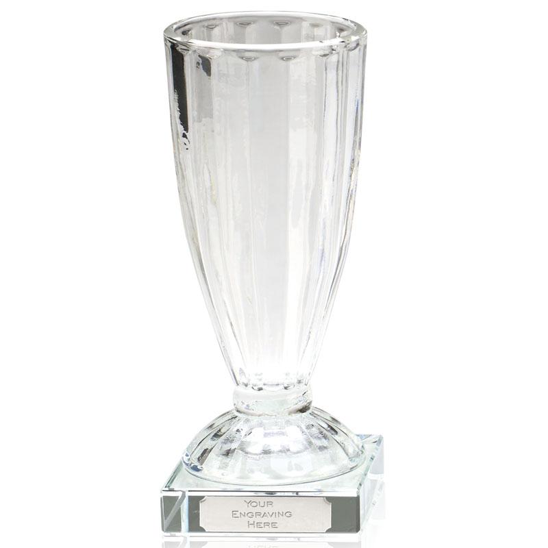 8 Inch Plain Oak Glass Chalice