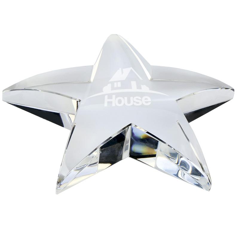 4 Inch Desktop Crystal Award