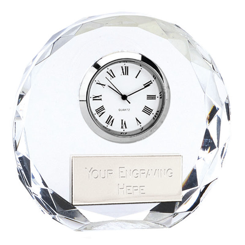 3 Inch Round Optical Crystal Era Optical Clock