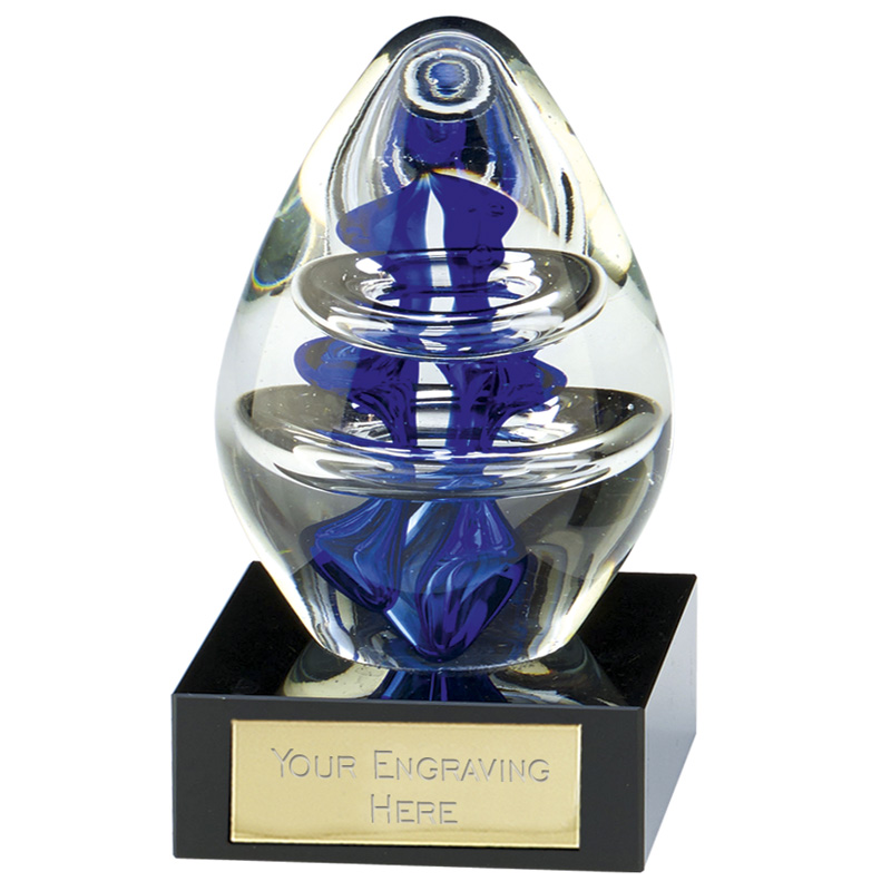 13cm Optical Illusion Athena Artistic Glass Award