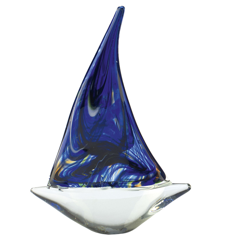 Colourful Yacht Dionysus Artistic Glass Award