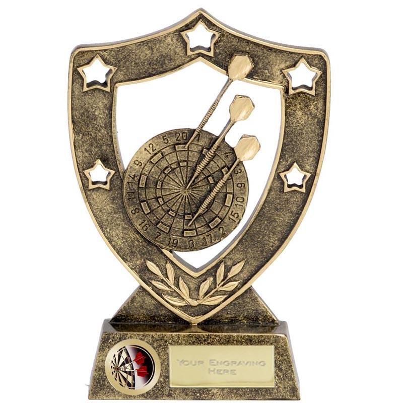 Dartboard Darts Shieldstar Shield Award