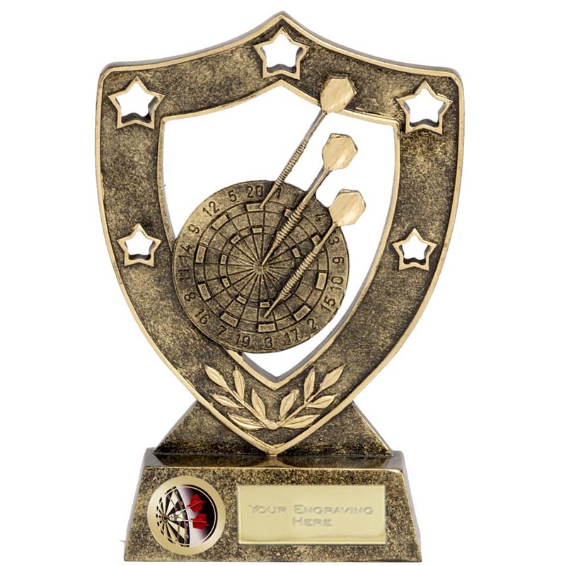 Dartboard Darts Shieldstar Shield Award