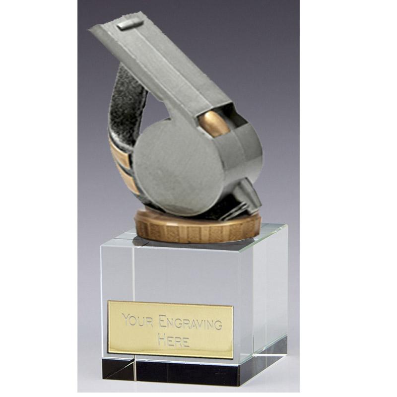 12cm Whistle Figure on Merit Award