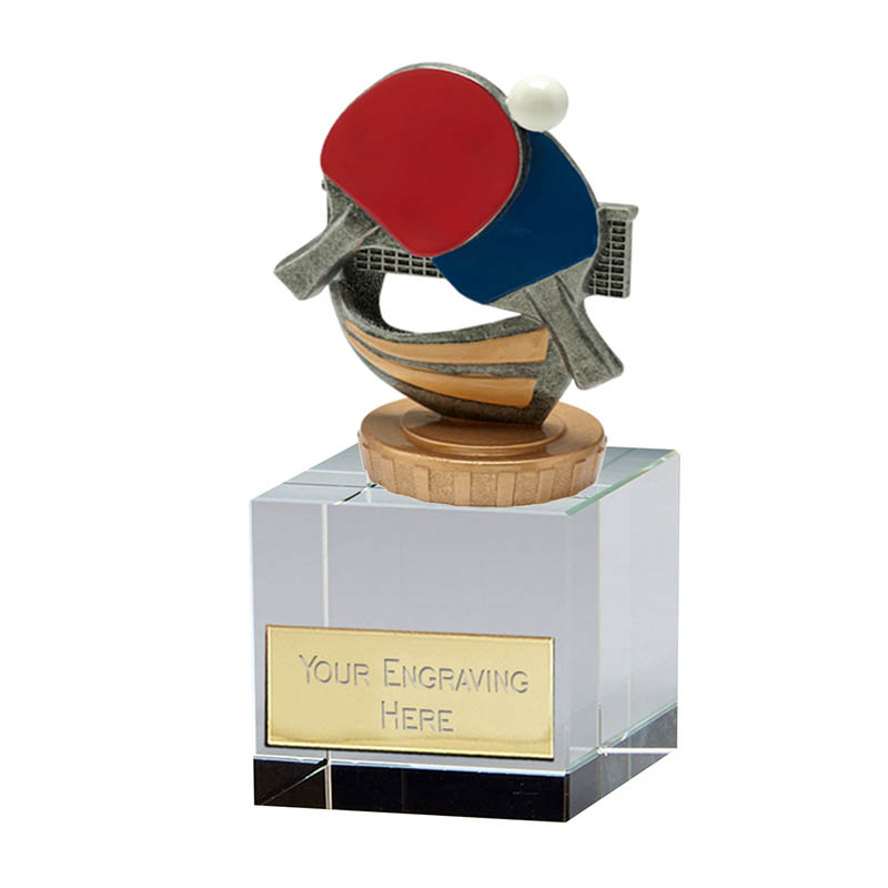 12cm Table Tennis Figure on Table Tennis Merit Award