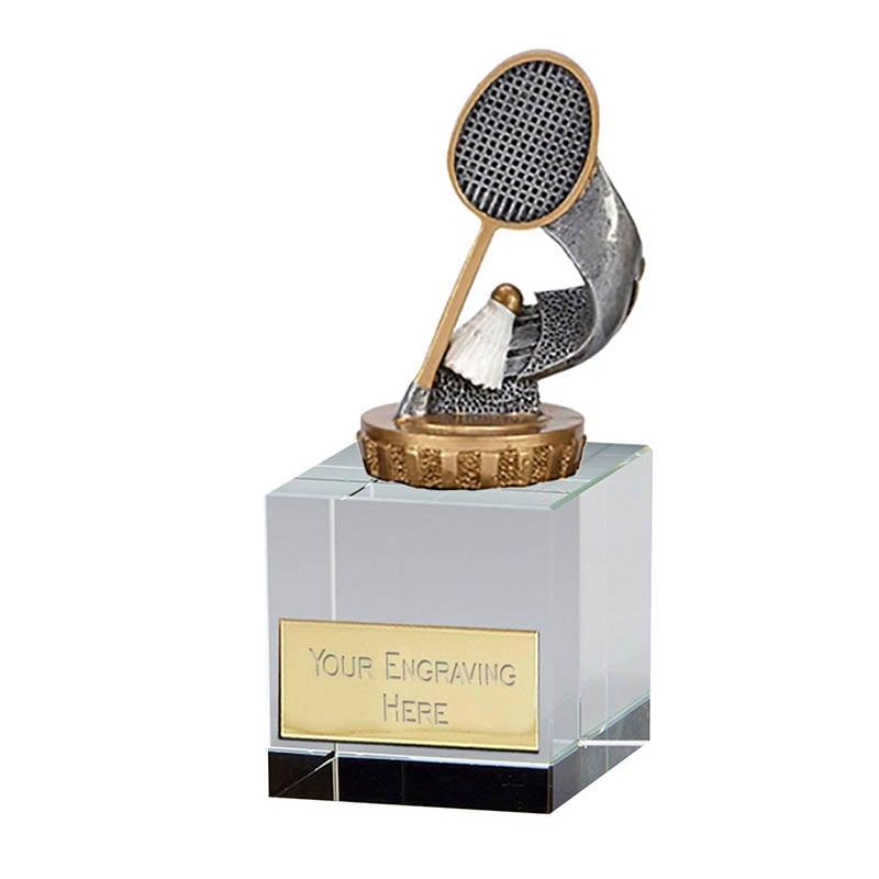 12cm Badminton Figure on Badminton Merit Award