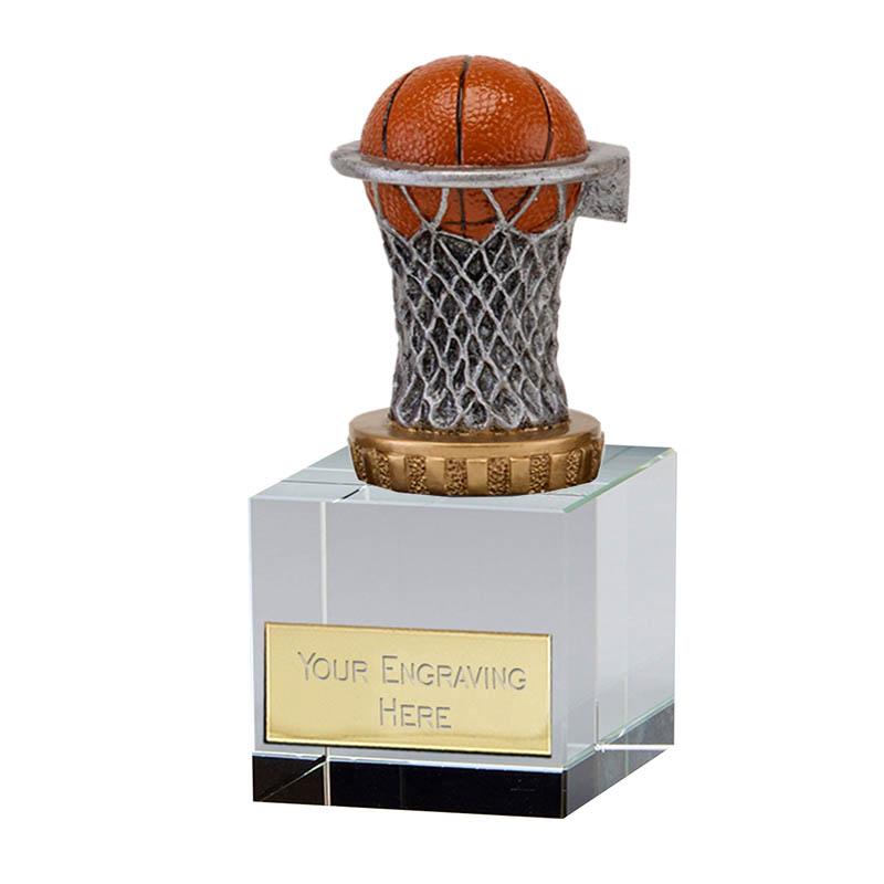 12cm Basketball Figure on Basketball Merit Award