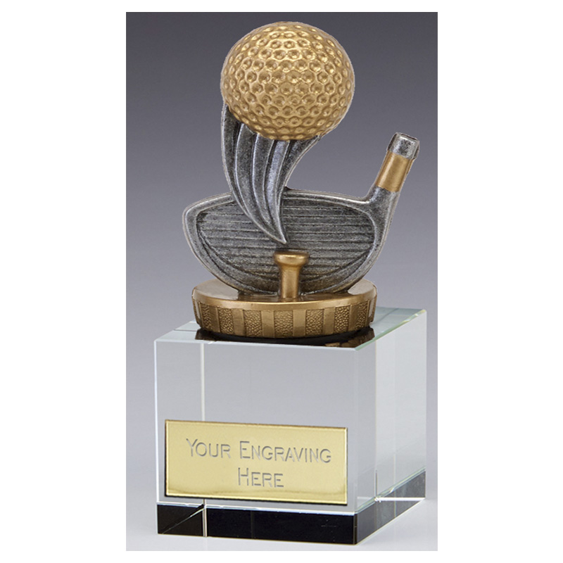 12cm Golf Figure on Golf Merit Award