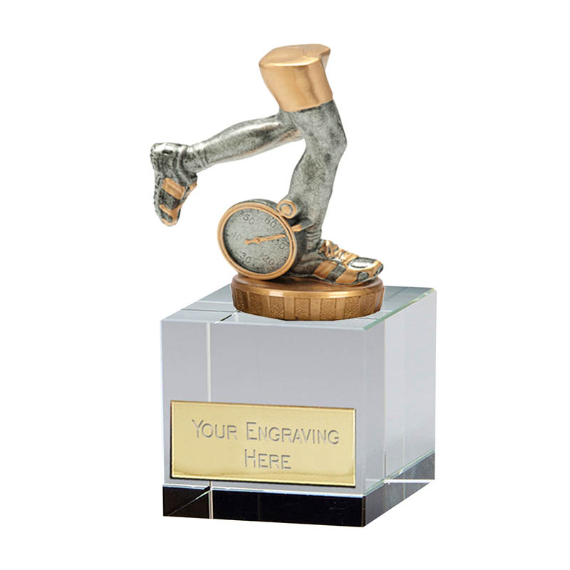 12cm Running Neutral Figure On Merit Award