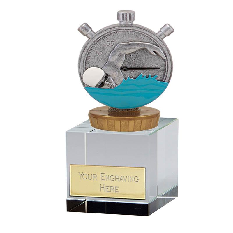 12cm Swimming Figure on Swimming Merit Award