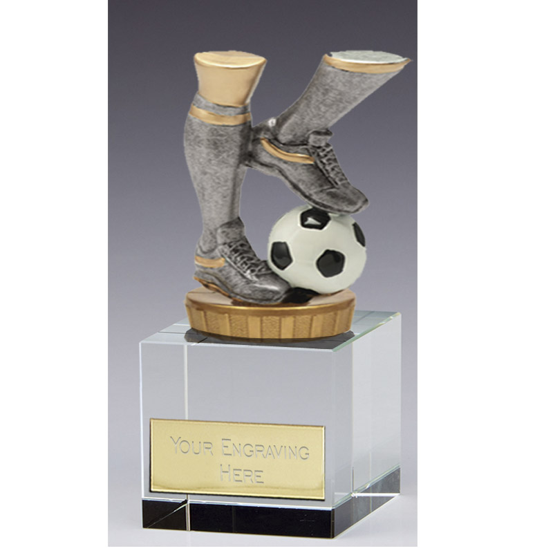 12cm Football Legs Figure on Football Merit Award