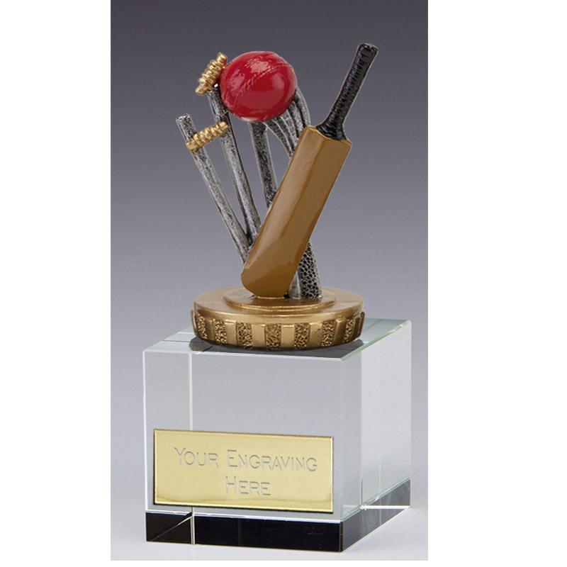 12cm Cricket Figure on Cricket Merit Award