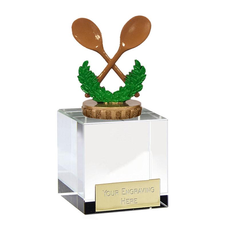 12cm Wooden Spoon Figure On Merit Award