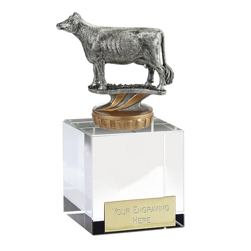 12cm 3D Cow Figure On Pets Merit Award