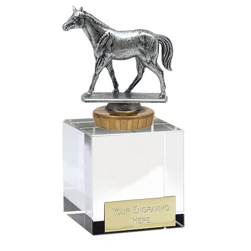12cm Quarter Horse Figure on Horse Riding Merit Award