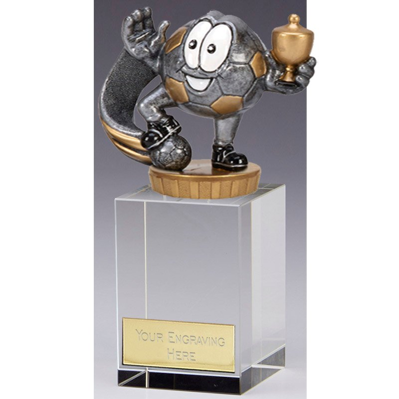 16cm Football Character Figure on Football Merit Award