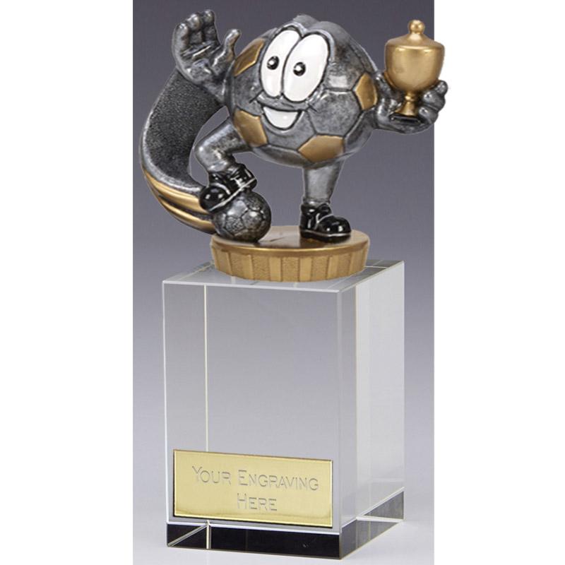 16cm Football Character Figure on Football Merit Award