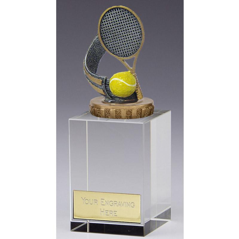 16cm Tennis Figure on Tennis Merit Award
