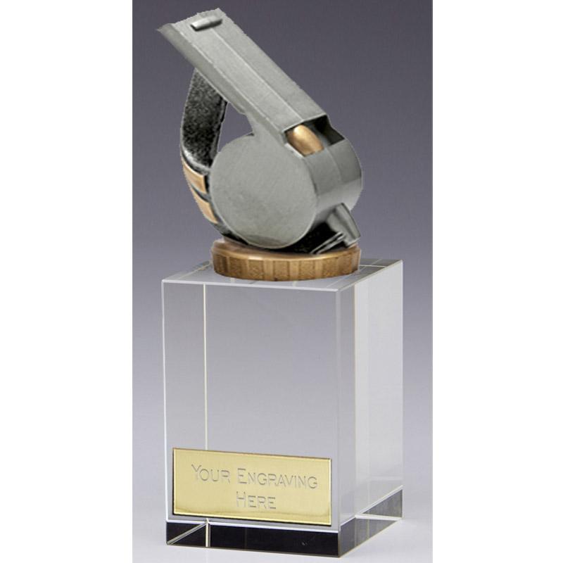 16cm Whistle Figure on Merit Award