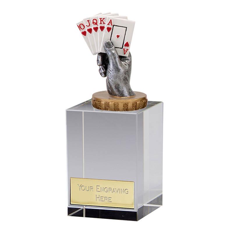 16cm Playing Cards Figure On Merit Award