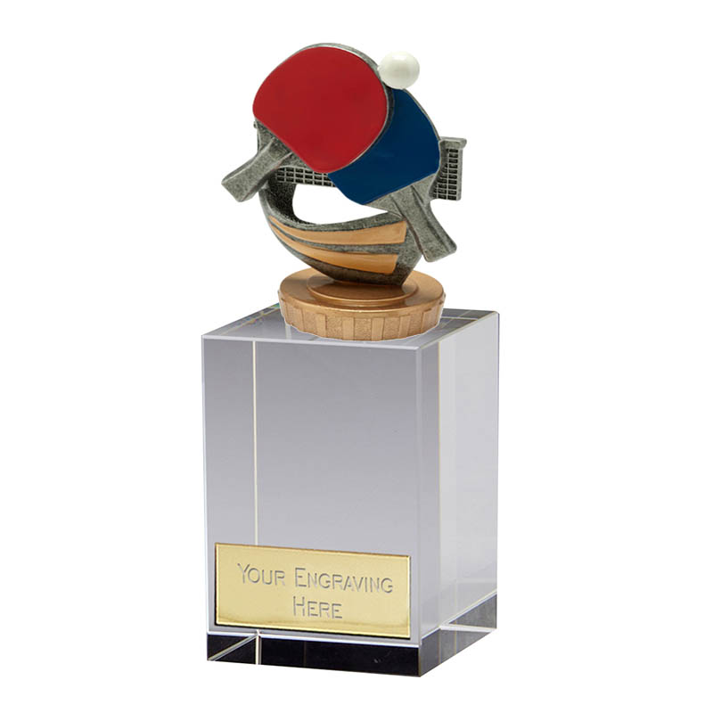 16cm Table Tennis Figure on Table Tennis Merit Award