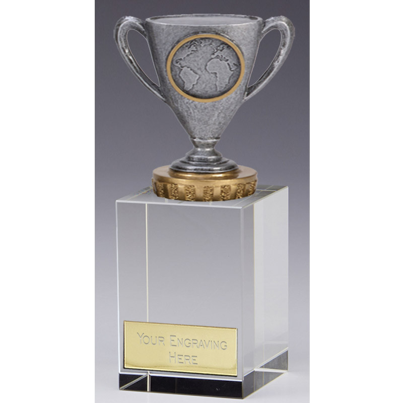 16cm Cup with Centre Figure on Merit Award