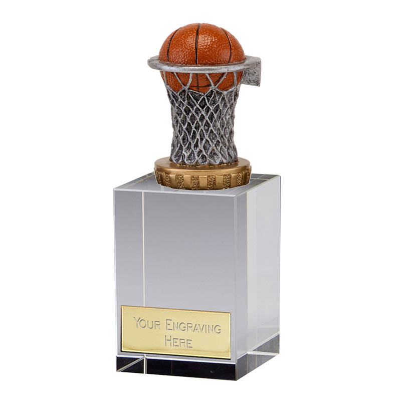 16cm Basketball Figure on Basketball Merit Award