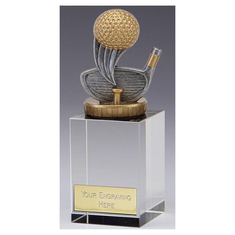 16cm Golf Figure on Golf Merit Award