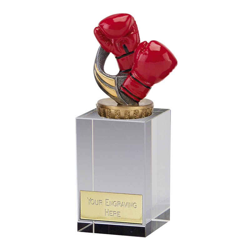 16cm Boxing Figure on Boxing Merit Award