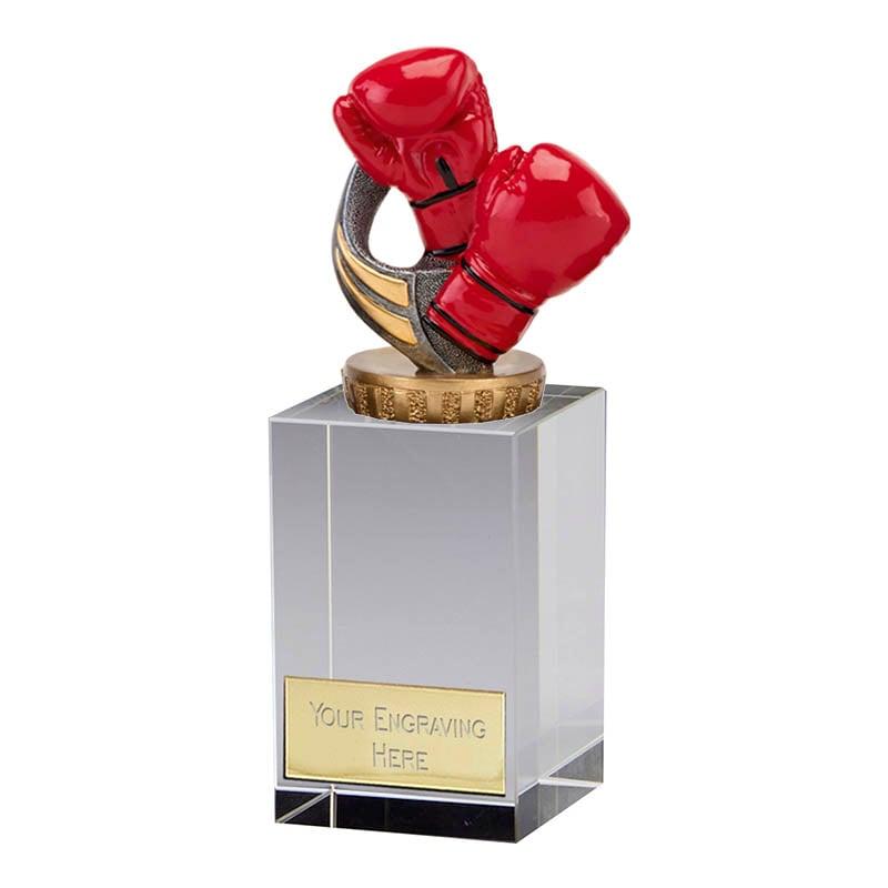 16cm Boxing Figure on Boxing Merit Award