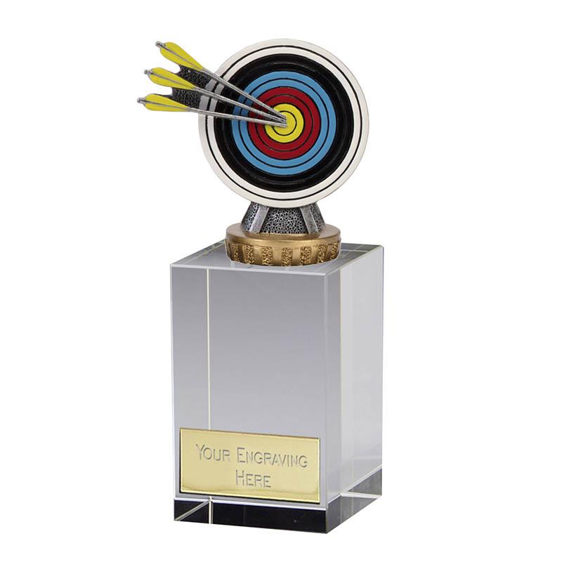 16cm Archery Figure on Archery Merit Award