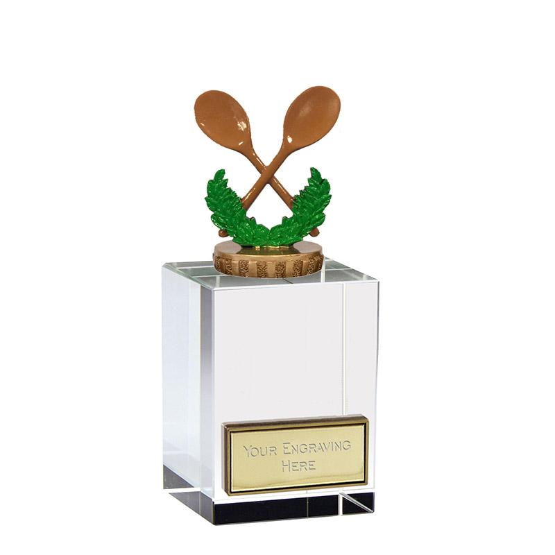 16cm Wooden Spoon Figure on Merit Award