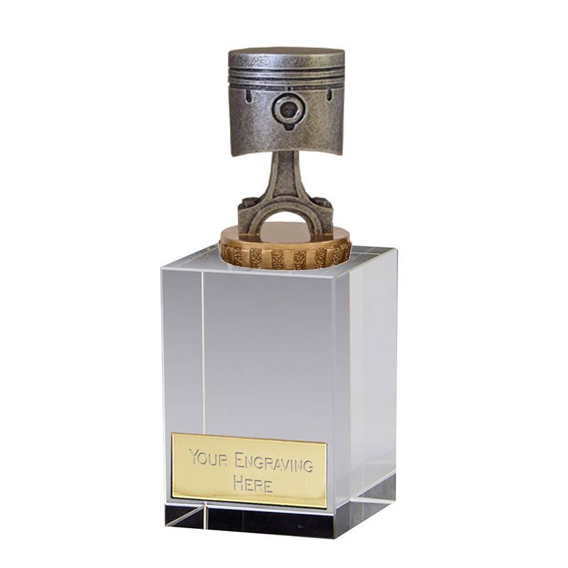 16cm Piston Figure on Motorsports Merit Award