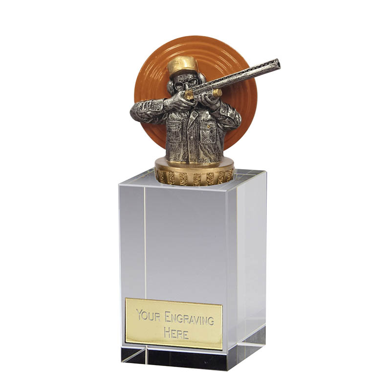 16cm Clay Shooting Figure On Merit Award