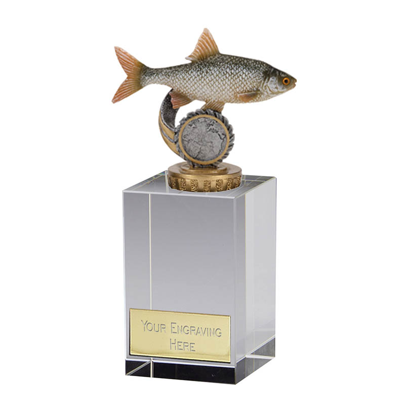 16cm Fish Roach Figure on Fishing Merit Award