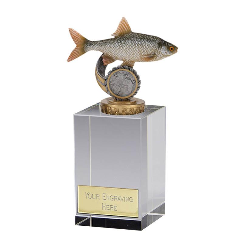 16cm Fish Roach Figure On Fishing Merit Award