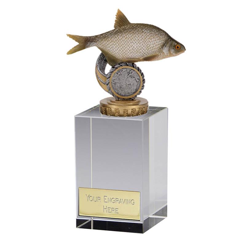 16cm Fish Bream Figure On Fishing Merit Award