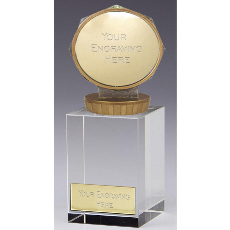16cm Centre Holder Figure on Merit Award