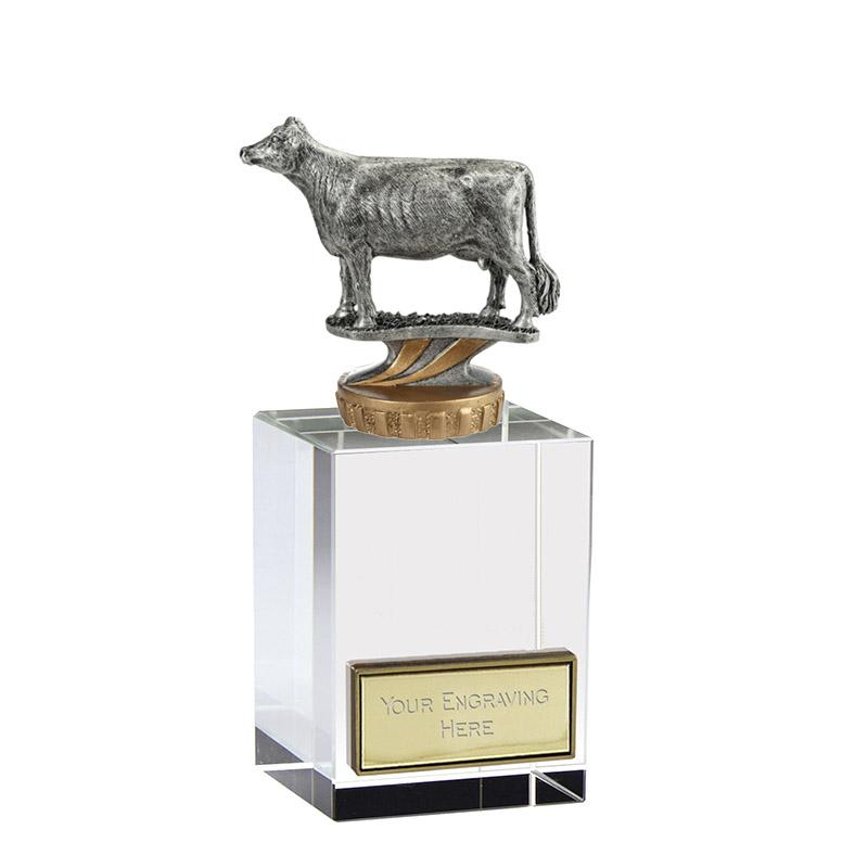 16cm 3D Cow Figure On Pets Merit Award