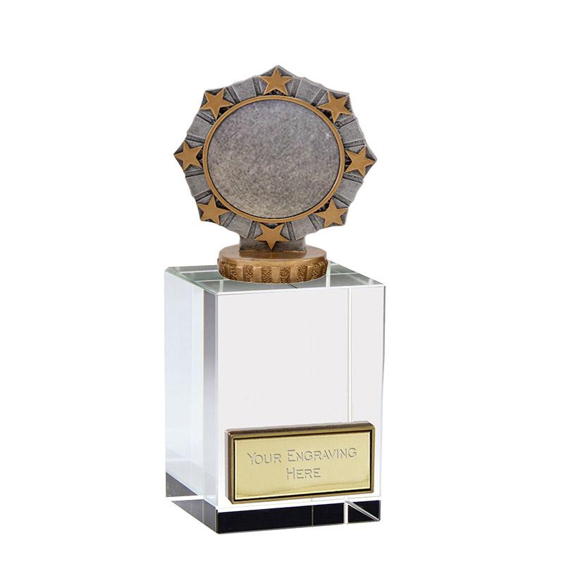16cm Worlds Best Centre Figure On Merit Award