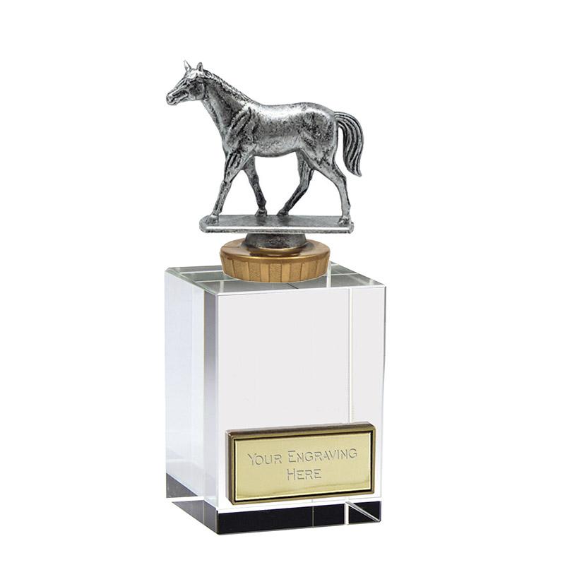16cm Quarter Horse Figure on Horse Riding Merit Award