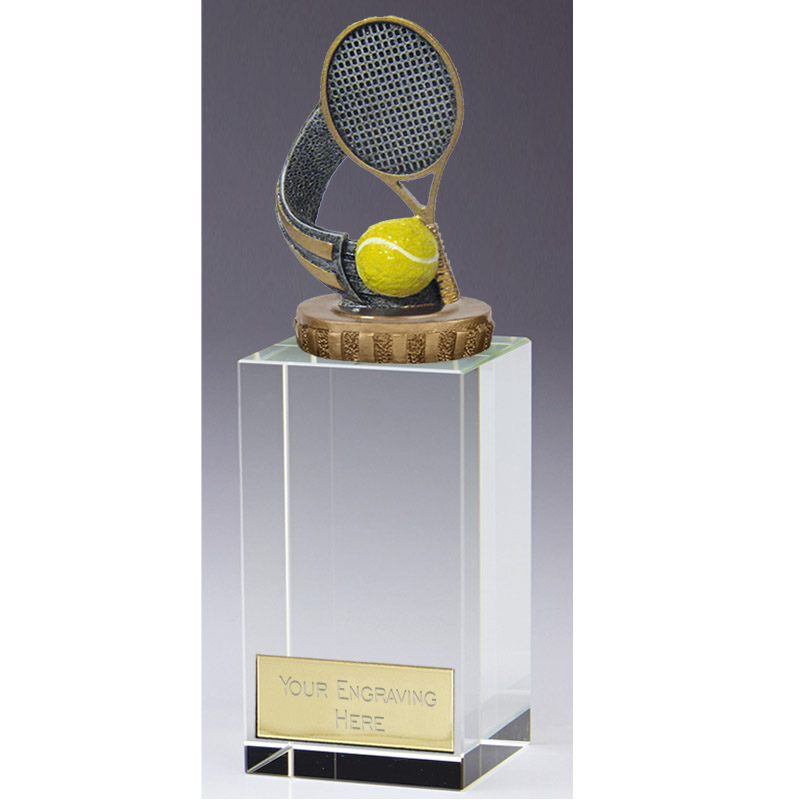 17cm Tennis Figure On Merit Award