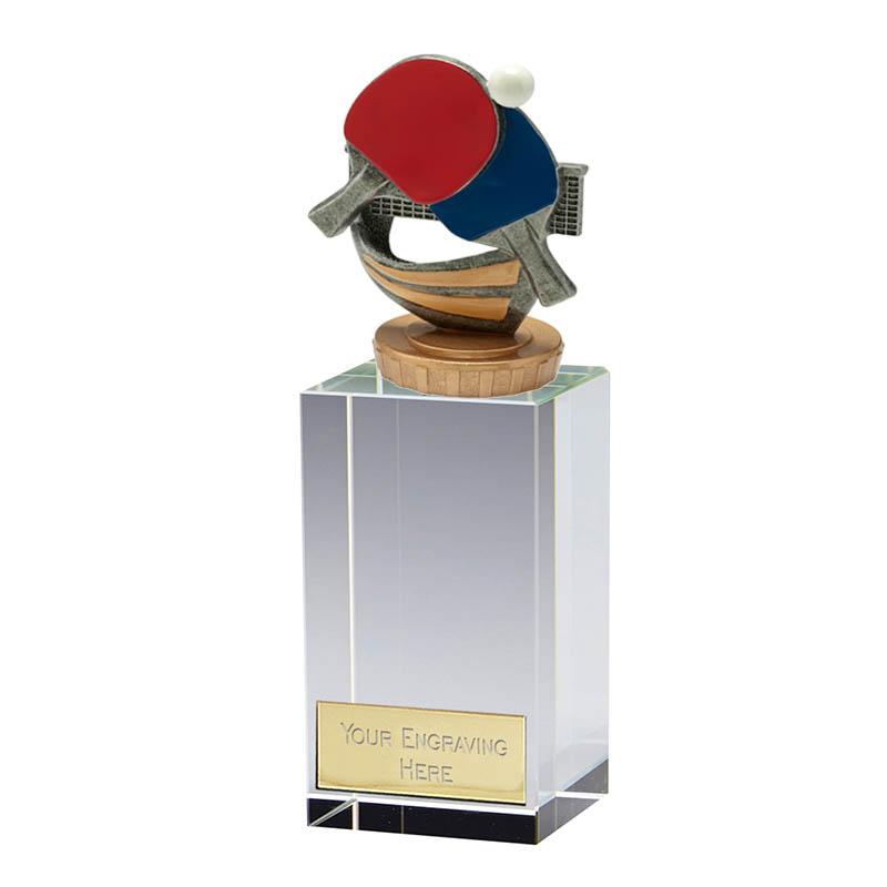 17cm Table Tennis Figure On Merit Award