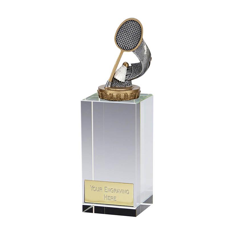 17cm Badminton Figure On Merit Award